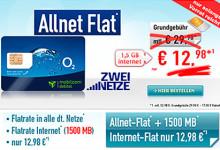 handybude Allnet-Flat mit 1,5 GB Daten