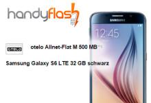 Otelo Allnet Flat M inkl. Samsung Galaxy S6