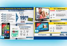 Smartphone, Tablet, Tarif und Fernseher