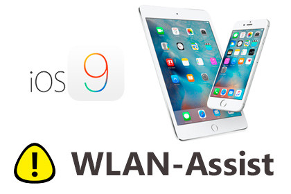 iOS 9 WLAN-Assist