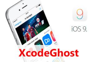 iPhone iOS 9 XcodeGhost