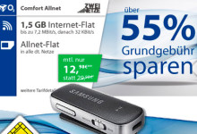 logitel Allnet-Flat mit 1,5 GB Daten-Volumen