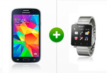 modeo Samsung Grand Neo und SONY Smartwatch 2