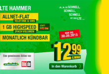 Smartmobil & BILD: LTE Hammer