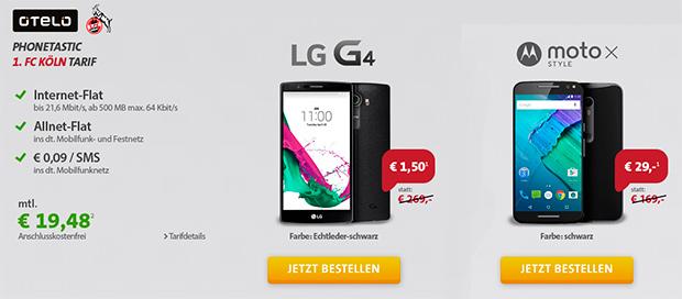 otelo-Tarif und Smartphones