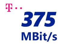 Telekom 375 MBit/s