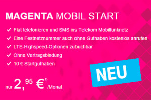Telekom Magenta Mobil Start