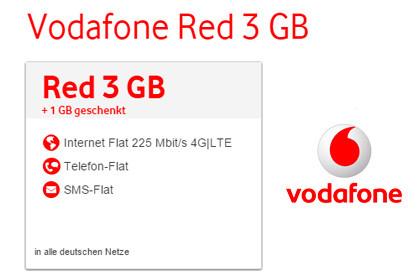 Vodafone RED Tarife Aktion