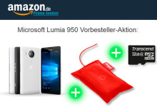 Amazon Microsoft Lumia 950 Vorbesteller-Aktion