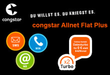 congstar Allnet Flat Datenturbo