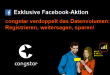 congstar Smart Datenturbo Gratis