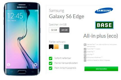 deinhandy All-in plus (eco) von BASE + Samsung