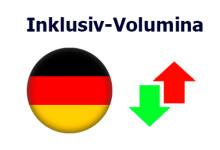 Deutschland Inklusiv-Volumina