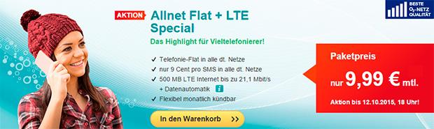 hellomobil Allnet-Flat LTE Special