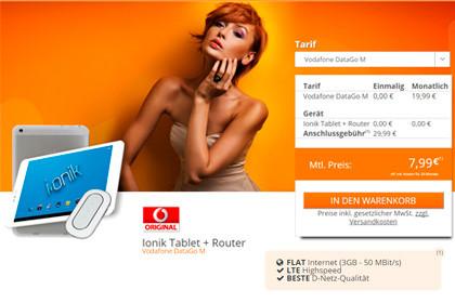 mediaspar- Vdafone DataGo M Ionik Tablet Router