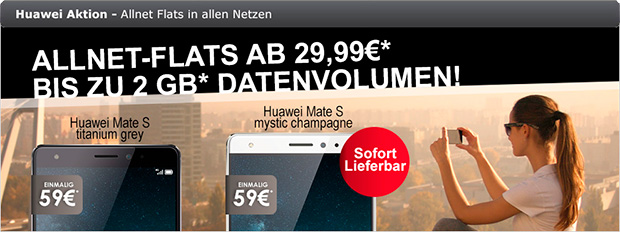 modeo Huawei Allnet-Flats Aktion