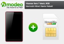 modeo - klarmobil Allnet Starter Rabatt + Hisense Sero 7