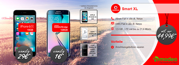 modeo Vodafone Smart XL