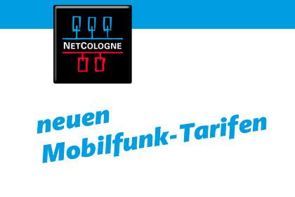 NetCologne neuen Mobilfunk-Tarifen