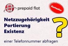 Service zur Überprüfung von Mobil- und Festnetznummern