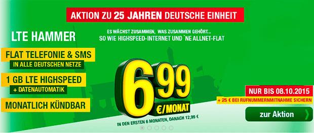 smartmobil LTE Hammer 6,99