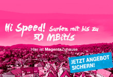 Telekom Hi Speed Banner