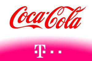 Telekom und Coca-Cola