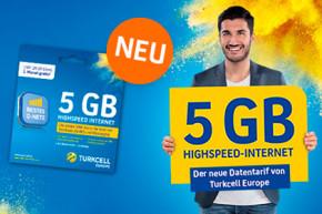 Turkcell: 5 GB im Telekom-Netz inkl. VoIP als Option oder Tarif