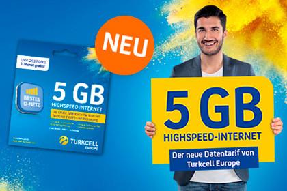 turkcell 5 GB im Telekom Netz