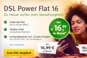 Bis 31. Oktober: DSL-Tarife von GMX und WEB.de ab 16,99 Euro