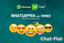 Whatsapp SIM keine Chat-Flat