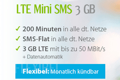 winsim LTE Mini SMS 3 GB