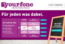 Yourfone LTE Tarife