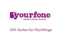 yourfone SIM-Karten für Flüchtlinge