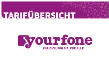 yourfone Tarifuebersicht