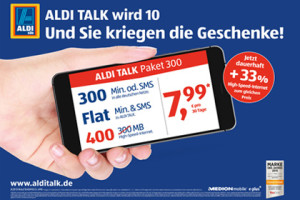 Aldi-Talk 10 Jahre