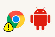 Android Probleme mit Chrome