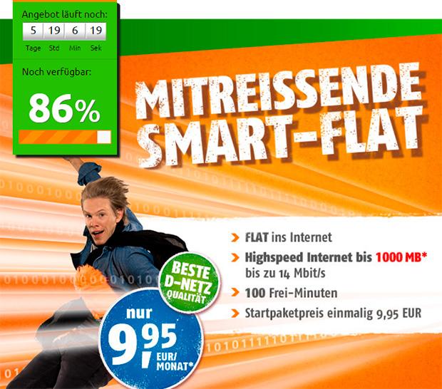 crash-tarife Smart-Flat