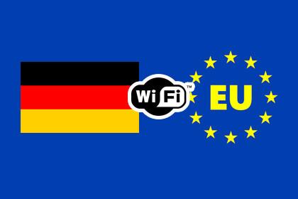 Deutschland und EU Wi-Fi