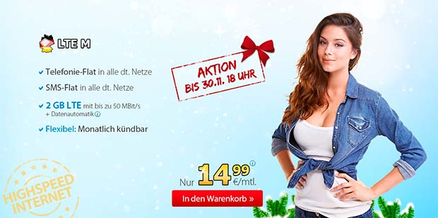 Deutschlandsim LTE M Aktion