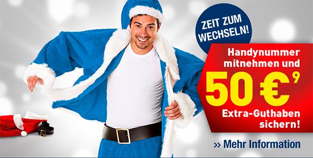 EDEKA mobil bietet 50 Euro Bonus