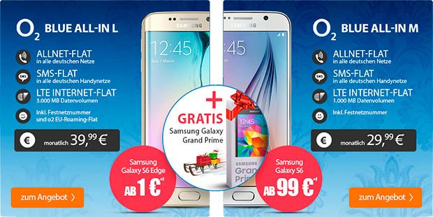 handyflash o2 Blue All-in L und M mit Galaxy S6