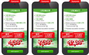 Neue LTE-Angebote bei WinSIM und maXXim – Tarife ab 4,99 Euro!