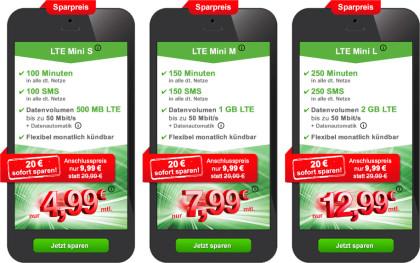 maxxim LTE Mini Tarife