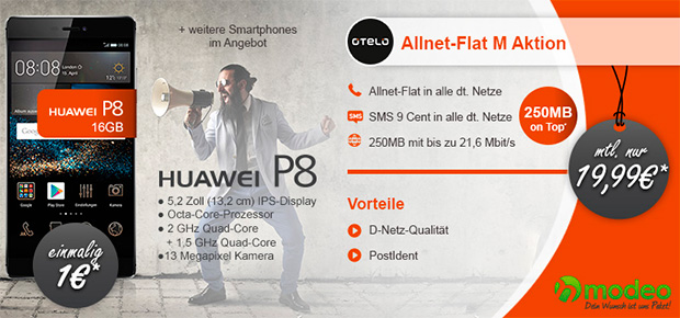 modeo otelo Allnet Flat M