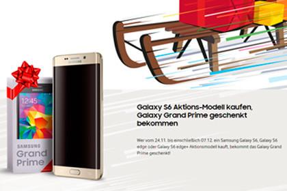 Samsung Galaxy S6 Aktion