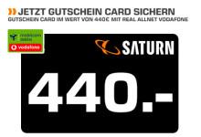 Vodafone Allnet-Flat mit Saturn-Gutschein