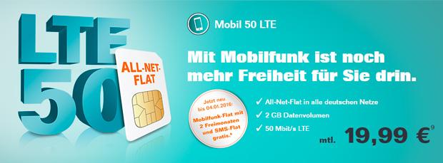 Tele Columbus LTE 50
