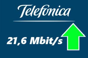 Telefonica 21 Mbit/s