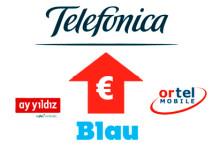 Telefonica Ay-Yildiz Blau Otrel